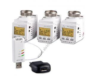 Home Control set s hlavicemi HC-PH-HD23 SET3